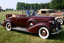 1934 Oldsmobile 8 Convertible Coupe