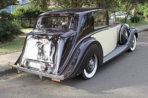 Rolls-Royce Wraith (1938) - 1938 Rolls-Royce Wraith sedan (The sixty-eighth Wraith built)