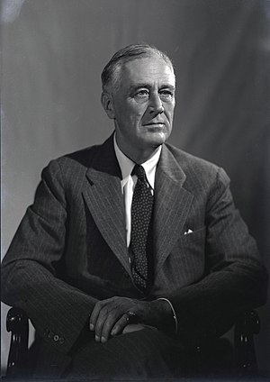 Twenty-second Amendment to the United States Constitution - Franklin D. Roosevelt, pictured in August 1944, was elected to both a third and fourth term, the only president to serve more than eight years.