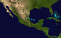 1946 Atlantic tropical storm 3 track.png