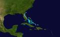 1946 Atlantic tropical storm 6 track.png