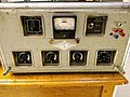 1950s SNCF Tube amp converted into guitar amp - front view.jpg