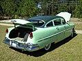 1954 Hudson Hornet Twin H sedan green rr.jpg