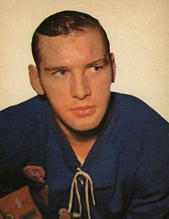 Dave Balon Canadian ice hockey player