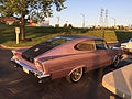 1966 AMC Marlin in Marquessa Light Mauve with black vinyl at AMO 2015 meet 03.jpg
