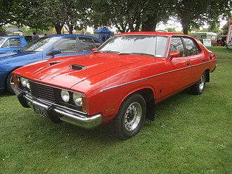 Ford Falcon (XC) - Ford Falcon 500 Sedan (XC) with GS Rally Pack