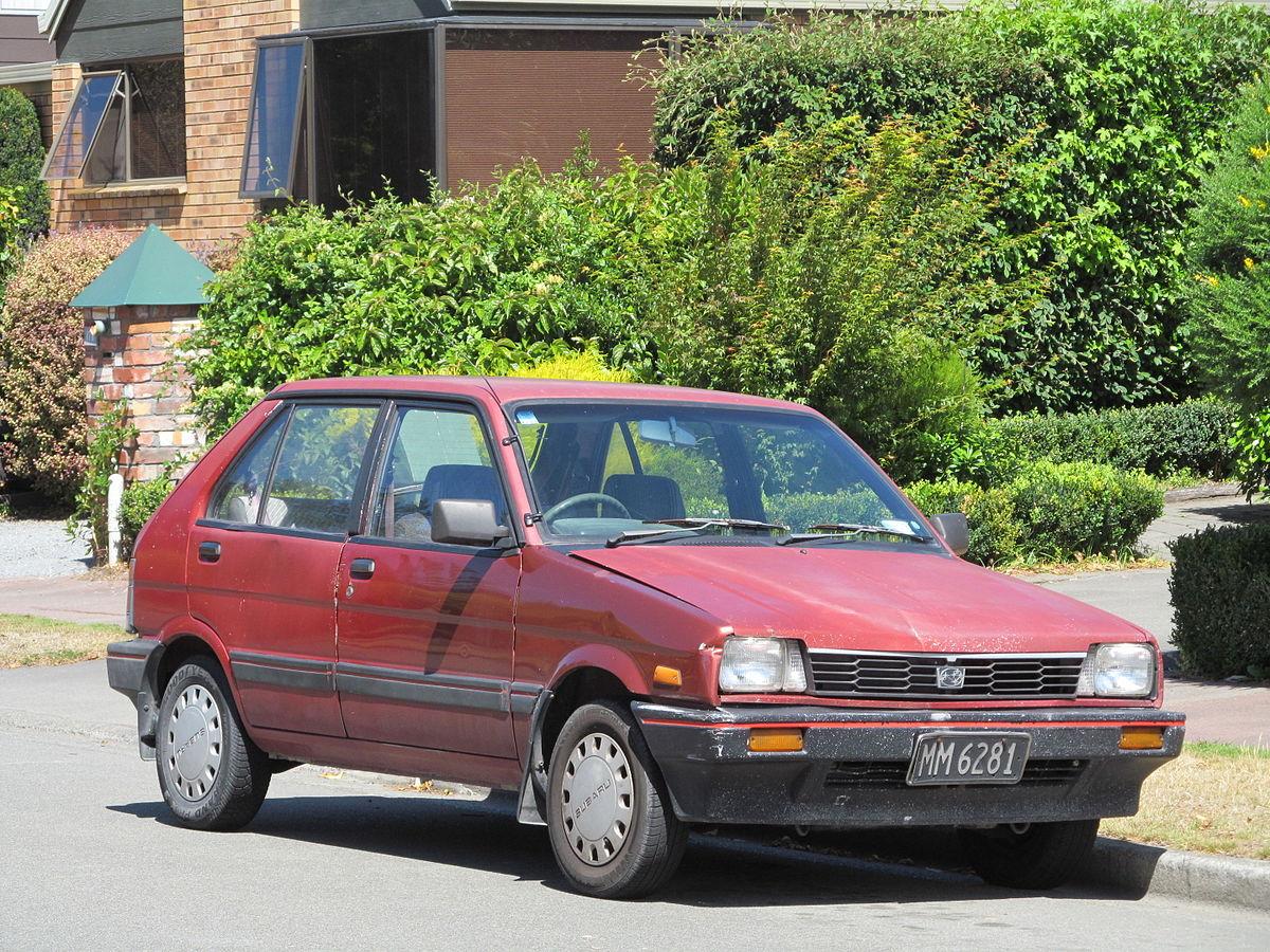 1986 Subaru Justy (12965577973).jpg