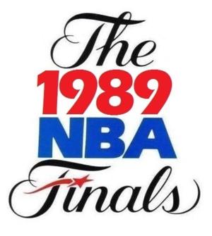 1989 NBA Finals - Image: 1989NBAFinals
