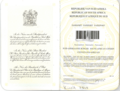 1995 South African Passport page 0 and 1.png