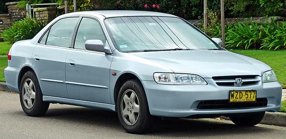 Honda Accord (sixth generation) - Wikiwand