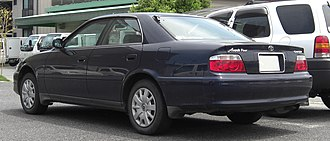 Toyota Chaser - 1998 Toyota Chaser Avante Four rear view