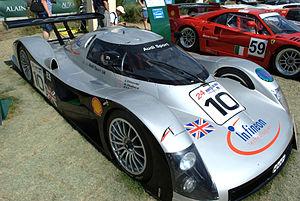 Audi R8C - Image: 1999 Audi R8C at Le Mans Classic 2010