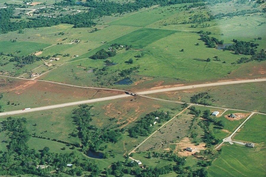 1999 Bridge Creek-Moore tornado overpass image