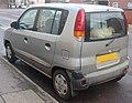 1999 Hyundai Atoz Automatic 1.0 Rear.jpg