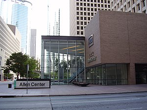 Allen Center - Image: 1Allen Center Houston TX