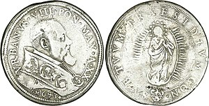 Pope Urban VIII - Pope Urban VIII, 1643
