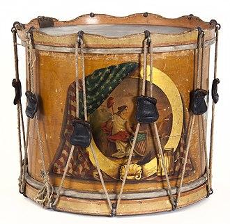 1st Minnesota Volunteer Infantry - First Minnesota Civil War drum, 1861