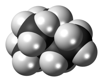 2,2-Dimethylbutane - Image: 2,2 Dimethylbutane 3D spacefill