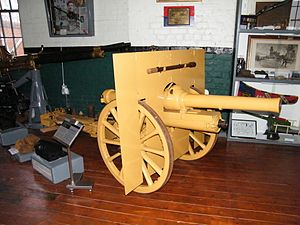 BL 2.75-inch mountain gun - 2.75-inch mountain gun on display at the Heugh Battery