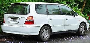 Honda Odyssey (international) - 2000–2002 Honda Odyssey, Australia
