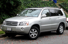 2001 2003 Toyota Highlander Limited    10 12 2011