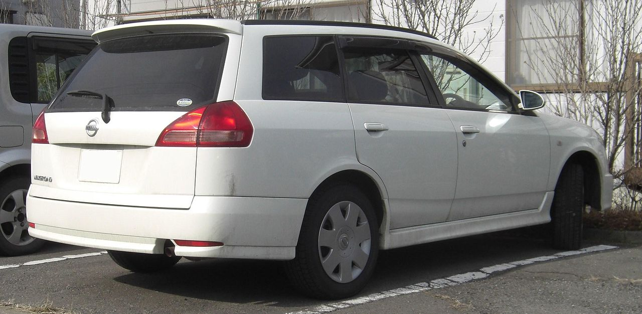 File:2002 NISSAN WINGROAD rear.jpg