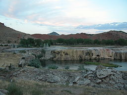 2003-08-16 Hot Springs State Park across Big Horn River 1.jpg