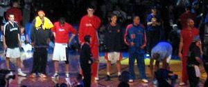 Carlos Boozer - Image: 2004 Got Milk Rookie Challenge Sophomore Starting Lineup