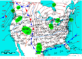 2005-01-27 Surface Weather Map NOAA.png