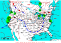2007-02-22 Surface Weather Map NOAA.png