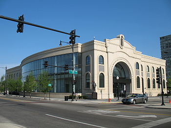 English: Harold Washington Cultural Center