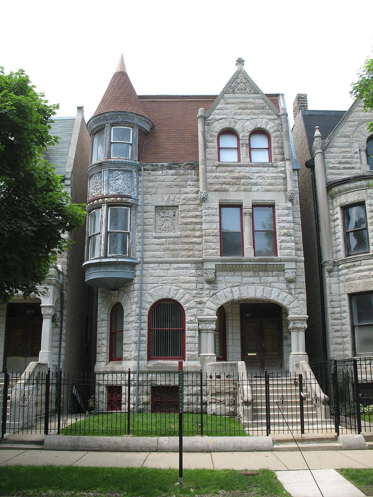 Ida b wells barnett house wikipedia for The greystone
