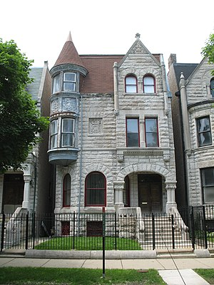 Ida B. Wells - Ida B. Wells-Barnett House is a Chicago landmark and National Historic Landmark.