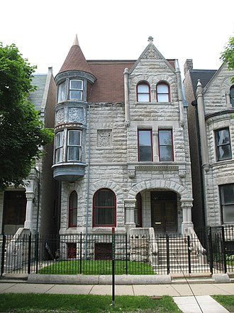 South Side, Chicago - Ida Wells lived in the Ida Wells House, a Chicago Landmark in the Bronzeville historic district.