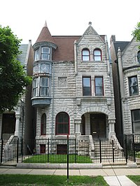 Ida B. Wells - Barnett House also contributes to the Black Metropolis-Bronzeville District.