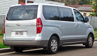 Hyundai Starex - Hyundai iMax (Australia; pre-facelift)