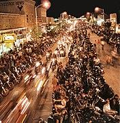 2008 Sturgis Motorcycle Rally, street at night.jpg