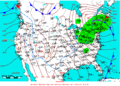 2009-04-07 Surface Weather Map NOAA.png