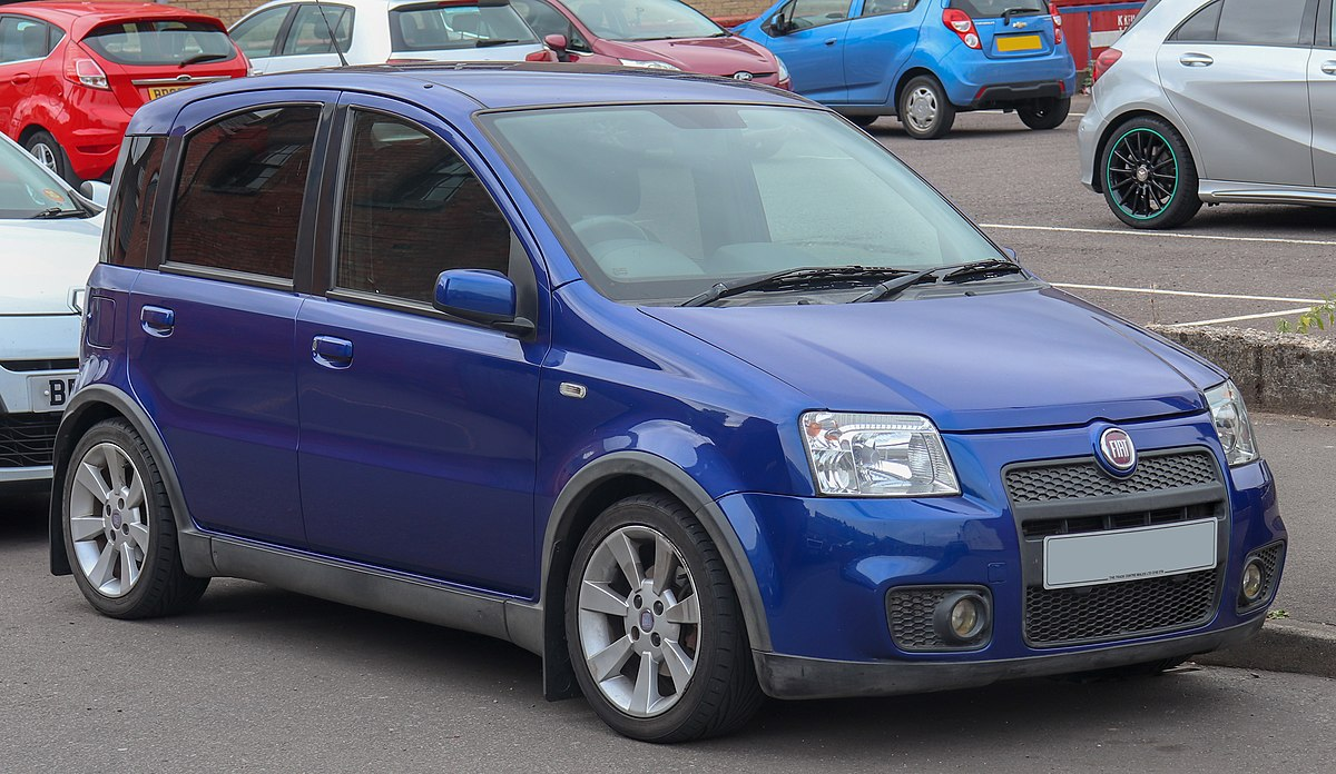 Fiat Panda (2003) - Wikipedia, den frie encyklopædi