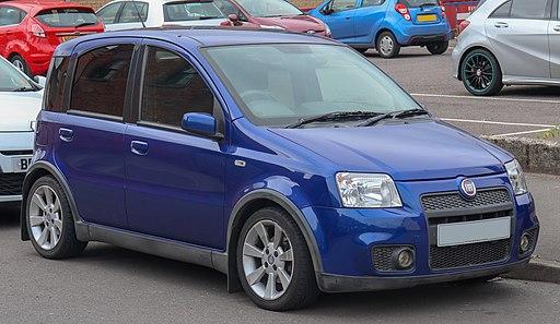 2009 Fiat Panda 100HP 1.4 Front