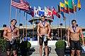 200 meter breaststroke winners (6404090803).jpg