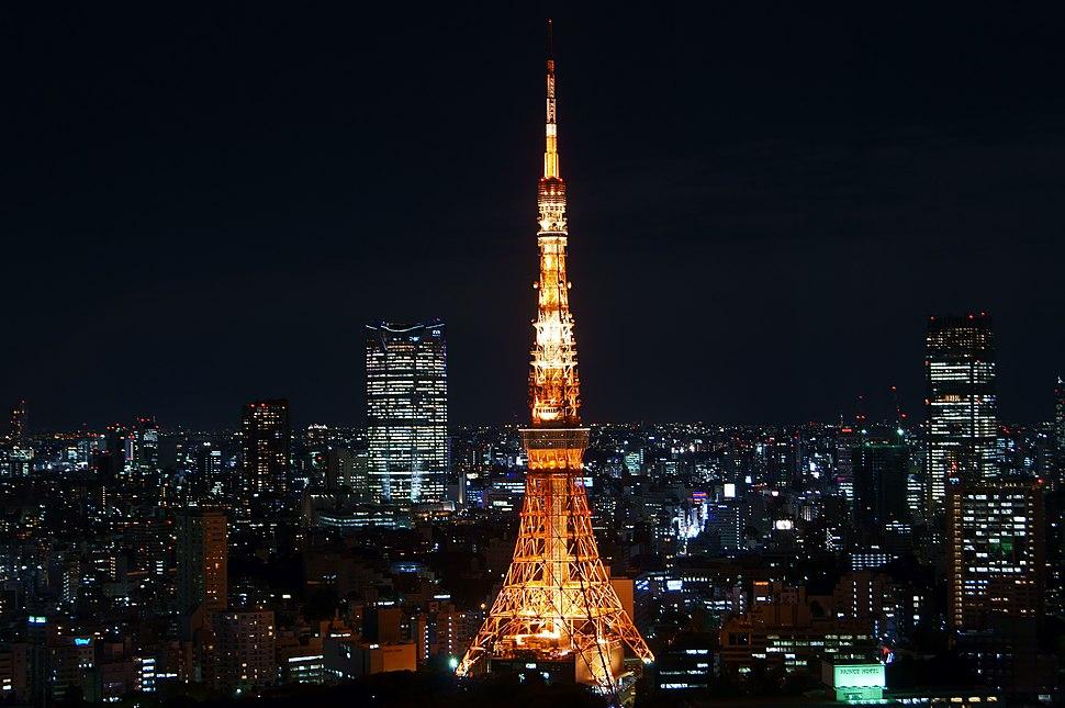 201010-TokyoTower-illuminated-fromWTC