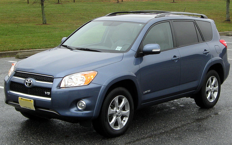 Toyota Rav4 Wikipedia >> File:2010 Toyota RAV4 Limited -- 12-12-2010 2.jpg - Wikimedia Commons