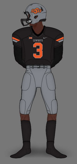 Oklahoma State Cowboys football - Image: 2011 Gray Black Gray