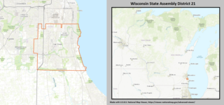 Wisconsin Assembly, District 21