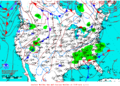 2012-02-19 Surface Weather Map NOAA.png