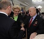 2012-03-05 Владимир Путин, Елена Малышева, Алексей Леонов.jpeg