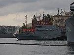 2013-08-30 Севастополь. Тральщик M1061 Rottweil ВМС Германии (2).JPG