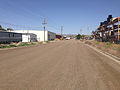 2014-06-09 15 19 50 Main Street, an unpaved road with a curb, in Elko, Nevada.JPG