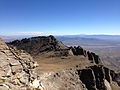 2014-09-24 10 30 38 View east from the east ridge of Hole-in-the-Mountain Peak, Nevada.JPG